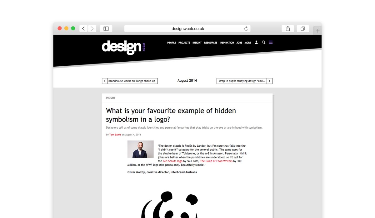 What Is Your Favourite Example Of Hidden Symbolism In A Logo